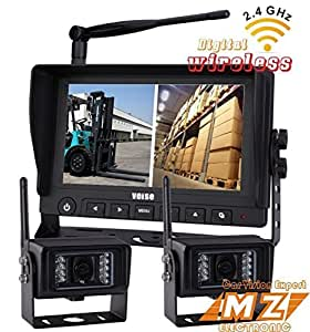Best Two Camera Wireless System For Travel Trailer And Truck