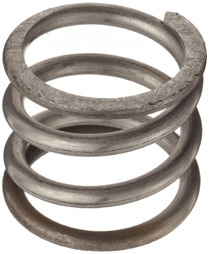 0.098 Wire Size 3.024 Compressed Length 0.6 OD Inch 45.93 lbs Load Capacity 4 Free Length 302 Stainless Steel 47.06 lbs//in Spring Rate Compression Spring Pack of 10