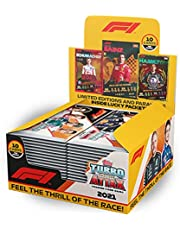 2021 Topps F1 Turbo Attax Cards - Box (24 Packs per Box) (10 Cards per Pack) (Total of 240 Cards)