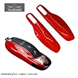 carmonmon Smart Protectors Keyless Remote Key Cases Shell Car Key Case Platic Cover Case Cover Side Blades for Porsche Cayenne