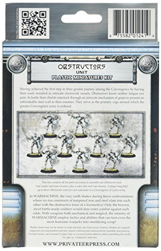 Privateer Press - Warmachine - Convergence: Obstructors Model Kit 4