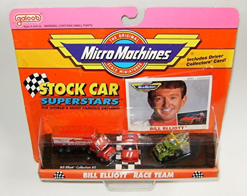 - Micro Machines Stock Car Bill Elliot Superstars #5 Collection