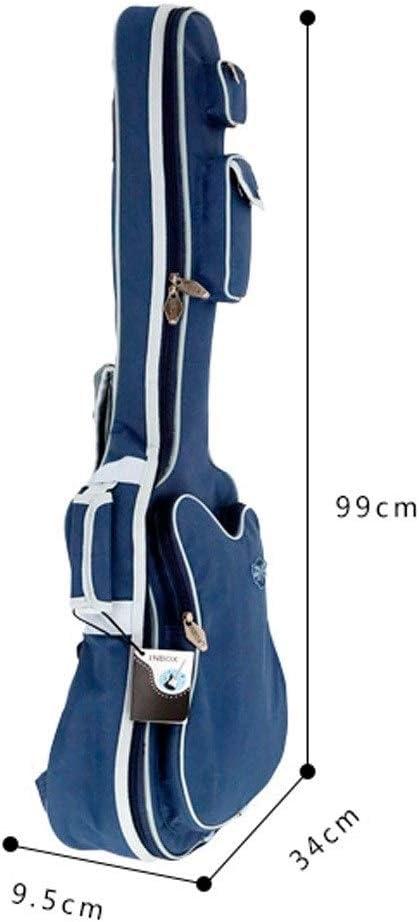 Color : Blue-36inch 36 Inch Waterproof Oxford Cloth Ordinary Thick Guitar Bag Jiansheng01 Guitar Bag