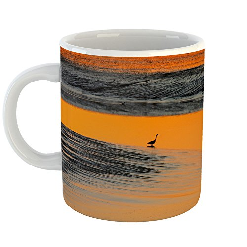 Westlake Art - Sunset Sunrise - 11oz Coffee Cup Mug - Modern Picture Photography Artwork Home Office Birthday Gift - 11 Ounce (7355-74DA6) - Wigeon Set