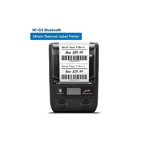 OXHARY Impresora de Etiquetas térmica Bluetooth portátil de ...