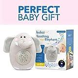 Bubzi Co Baby Toys Elephant White Noise Sound