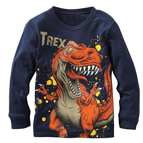 Babytree Baby Boys T-shirts Jurassic Dinosaur Tyrannosaurus Rex Tee ()
