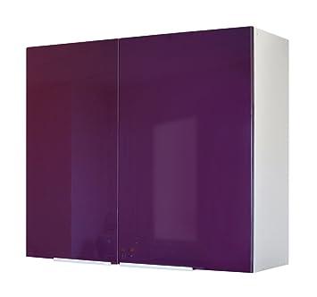Berlenus CP8HA - Mueble Alto de Cocina (2 Puertas, 80 cm), Color ...