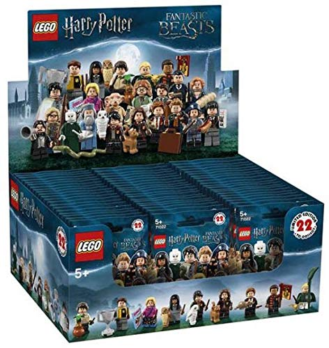 with LEGO Harry Potter Minifigures design