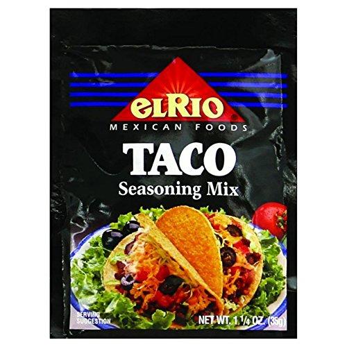 El Taco Rio (El Rio Seasoning Mix - Taco - 1.25 oz - Case of 20)