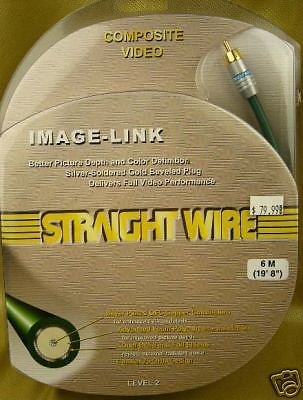 Straightwire Video Link (Straightwire Image-Link 6 Meter Digital Coaxial 6M)