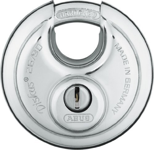 ABUS 26/90 KD B High Security Stainless Steel Keyed Different Diskus Padlock by Abus Lock USA