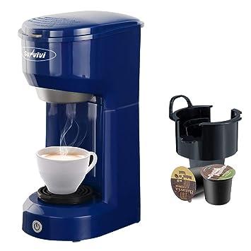 Amazon.com: Sunvivi Cafetera de un solo servicio compatible ...