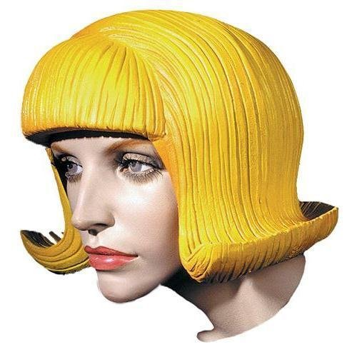 Morris Costumes Flip Rubber Wig