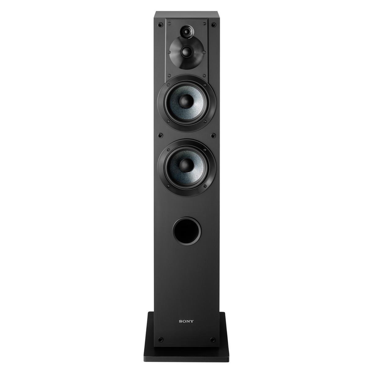 Sony SS-CS3 3-Way 4-Driver Floor-Standing Speaker - Pair (Black) by Sony (Image #4)
