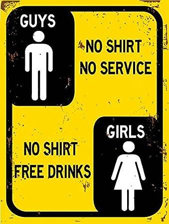 Chicos Sin camisa sin servicio, las niñas no camiseta Free ...