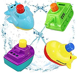 Sweepstakes: BESTRY-US Baby Bath Toys Bathtub toys for...