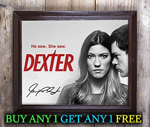 Carpenter Autographed Photo - Jennifer Carpenter Dexter Autographed Signed 8x10 Photo Reprint #53 Special Unique Gifts Ideas Him Her Best Friends Birthday Christmas Xmas Valentines Anniversary Fathers Mothers Day