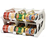 FIFO Mini Can Tracker- Food Storage Canned Foods Organizer/Rotater/Dispenser: Kitchen, Cupboard, Cabinet, Pantry- Rotate Up To 30 Cans - Made in the USA