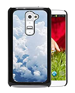 Puffy White Clouds Durable High Quality LG G2 Phone Case
