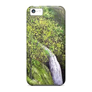 New Arrival Cases Covers With FhE17430TbJf Design For Iphone 5c- The Cascade