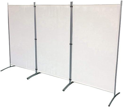 Froadp 260x180cm Plegable de Biombos de Dormitorio Privacidad Protectoras Pantallas Separador de Ambientes para Balcón Patio Jardín(Beige): Amazon.es: Hogar
