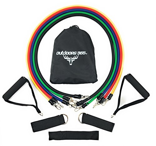 (Outdoors 365 Resistance Band Workout Kit)