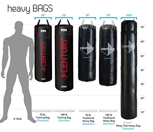 Amazon.com  Century Tidal Wave Hydra Core Heavy Bag - XL  Heavy Punching Bags  Sports u0026 Outdoors  sc 1 st  Amazon.com : heavy bag stand weight plates - Pezcame.Com