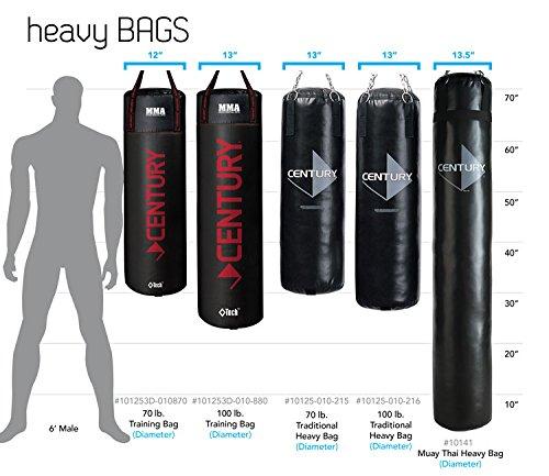 Amazon.com  Century Tidal Wave Hydra Core Heavy Bag - XL  Heavy Punching Bags  Sports u0026 Outdoors  sc 1 st  Amazon.com & Amazon.com : Century Tidal Wave Hydra Core Heavy Bag - XL : Heavy ...
