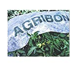 Agribon AG-30 Floating Row Crop Cover/Frost Blanket/Frost Cloth/Garden Fabric Plant Cover - Ebook Included (83'' X100')