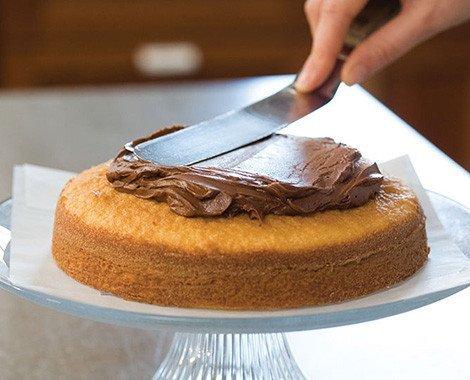 Anokay 3pcs Espátulas de Acero Inoxidable para la Decoración de Pasteles Tartas Tortas Cuchillo Angulado Espátula para Glasear Crema Nata Mantequilla ...