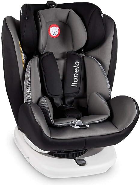 Lionelo Bastiaan - Asiento infantil para coche (grupo 0+ 1 2 3 (0 ...
