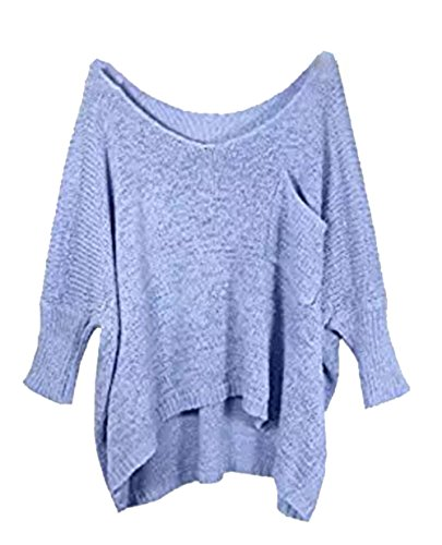 Women O-Neck Lightweight Bating Hollow Loose Knitted Pullovers Sweater Tops