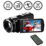 Camcorder Digital Camera Video Recorder FHD 1080p 24MP Beauty Face Camera HDMI Output With Remote Control