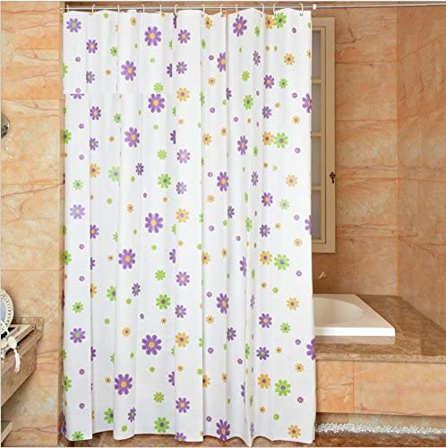 GFYWZ Verde impermeable cortina baño PVEA tocador plástico partición mamparas , 150*200cm: Amazon.es: Hogar