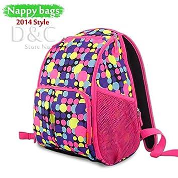 Amazon.com : Baby travel bag multifunctional baby diaper ...