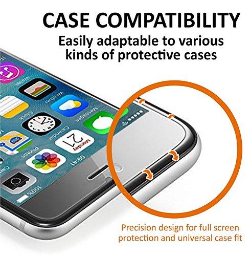 SAMAR – Pellicola Protettiva (Confezione da 6) per Apple iPhone 8 Plus / iPhone 7 Plus, Proteggi Schermo Trasparente Qualità Premium per iPhone per Proteggi Schermo Ultra Sottile