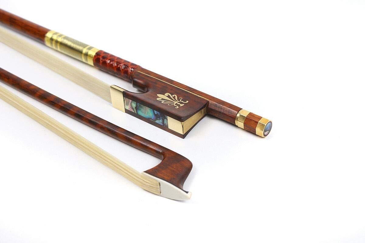 FidgetGear 5pcs viola bow s 4/4 with,copper fitting