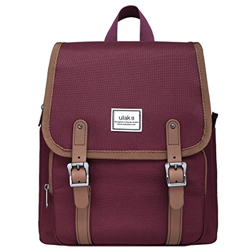 ULAK Classic Mini Backpack - Wine Red