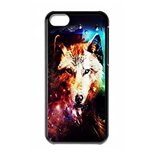Mysterious Wolf theme for iPhone 5C hard back case