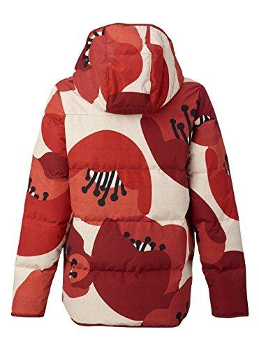 Field Canvas Mute Jacket Insulator Burton Poppy Women's cZUwSgq6