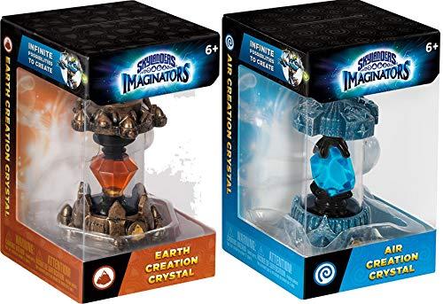 - Earth and Air Skylanders Imaginators Creation Crystal 2-Piece Bundle - Earth Rocket and Air Angel Set