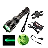 X.YSHINE Hunting Flashlight- Green Light Flashlight of HS-802...