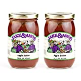 Jake & Amos Apple Butter - (2) 16 Ounce Jars