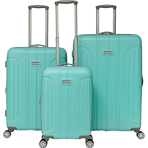 Gabbiano Viva 3 Piece Expandable Hardside Spinner Luggage Set (Tiffany Blue) by Gabbiano