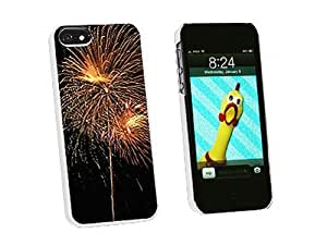 Graphics and More Fireworks Fourth of July Snap-On Hard Protective Case for iPhone 6 4.7 - Non-Retail Packaging - White WANGJING JINDA