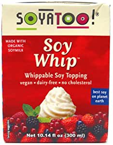 SoyaToo Whippable Soy Topping, 10.1 oz. Box