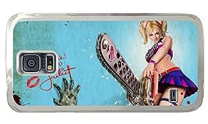 Cheap Samsung cover retro The Chainsaw girl fantasy PC Transparent for Samsung S5,Samsung Galaxy S5,Samsung i9600