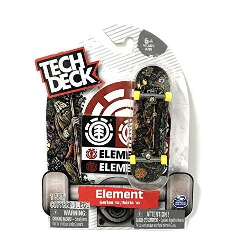 Tech Deck Fingerboard Series 10 Element Nyhah Element Cóncavo