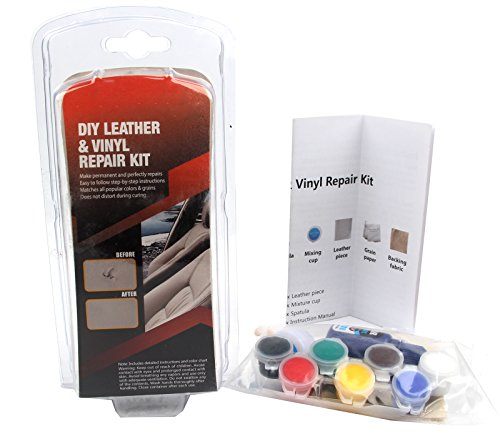 Leather Repair Kit for Car Seat,Couch,Jackets by Sun Cling